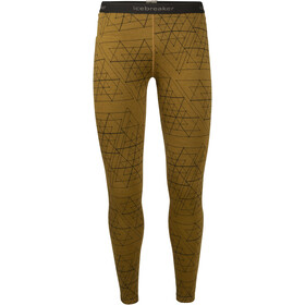 Icebreaker 250 Vertex Ice Structure Leggings Mujer, curry